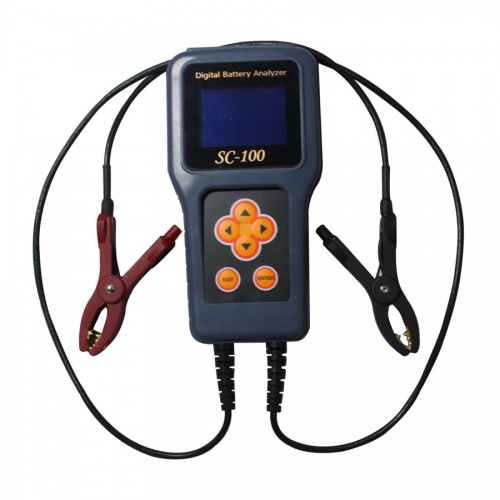 SC100 digital car battery analzyer tool