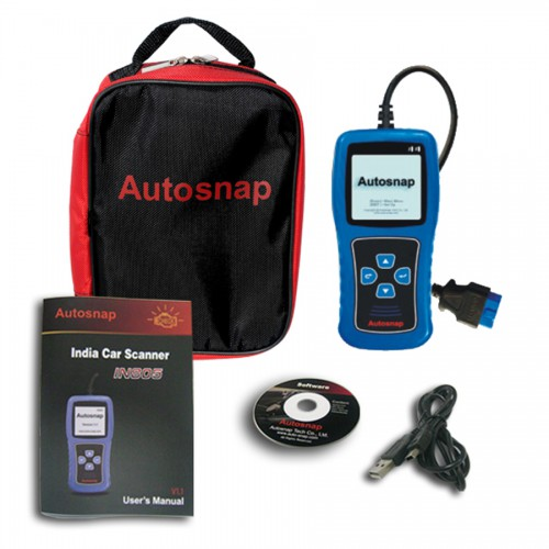 Autosnap® IN805 India Vehicles Scan Tool