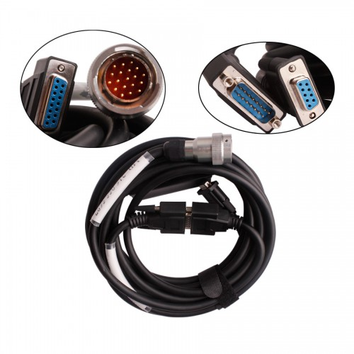 MB Star C3 Pro With Seven Cables for BENZ Trucks and Cars