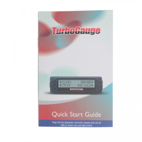 Newest Auto Computer scan tool digital gauge TurboGauge IV