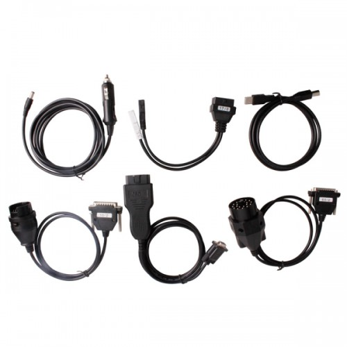 Cables Set for Digiprog III Digiprog 3 Odometer Programmer
