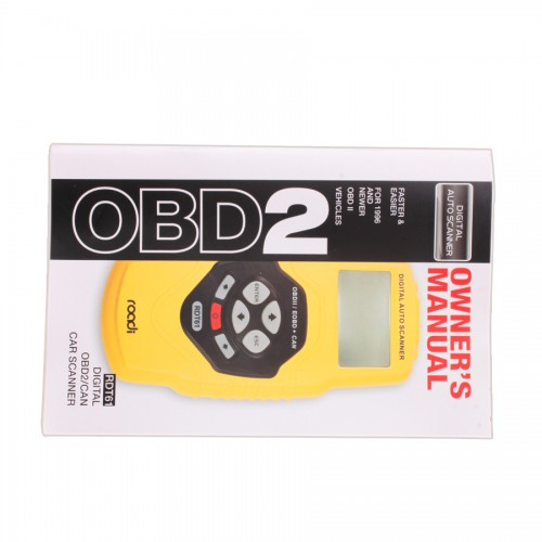 CAN OBD2/EOBD Code scanner T61(multilingual,updatable)