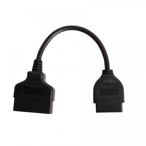 22pin to 16pin OBD1 to OBD2 Connect Cable for TOYOTA