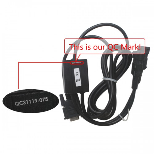 Doctor diagnostic cable for Linde With software (6pin and 4pin connectors)