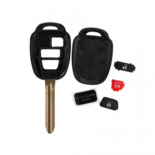 Remote Key Shell 2+1 Button for Toyota (No Logo) 5pcs/lot