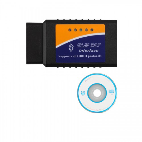 ELM327 V2.1 Bluetooth software OBD2 EOBD CAN-BUS Scanner Tool Free Shipping