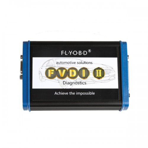 FVDI II Fiat Commander For Fiat/Alfa Lancia V5.7 mit Software USB Dongle