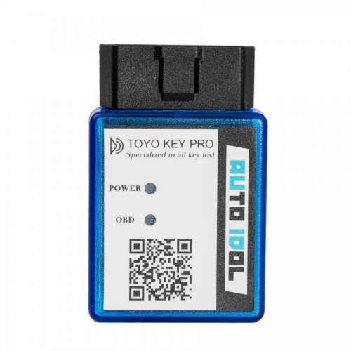 New Toyo Key Pro OBD II Support Toyota 40/80/128 BIT (4D, 4D-G, 4D-H) All Key Lost