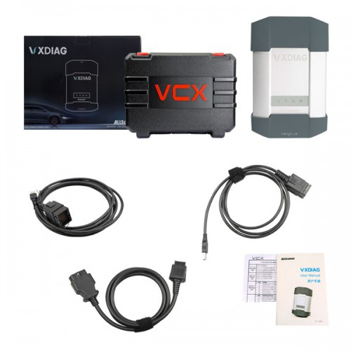 Newest VXDIAG BENZ C6 Multi Diagnostic Tool for Benz With Software HDD Supports WiFi