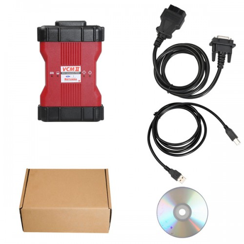VCM II Diagnostic Tool for Ford IDS V111.01 Mazda IDS V110 Installation without VMware
