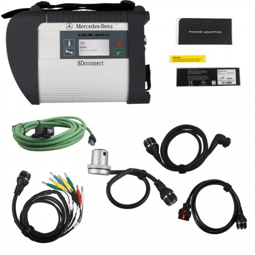 V2019.9 MB SD C4 Connect Compact 4 mit WiFi für Mercedes Benz Pkw und Lkw free send software with Vediamo and DTS