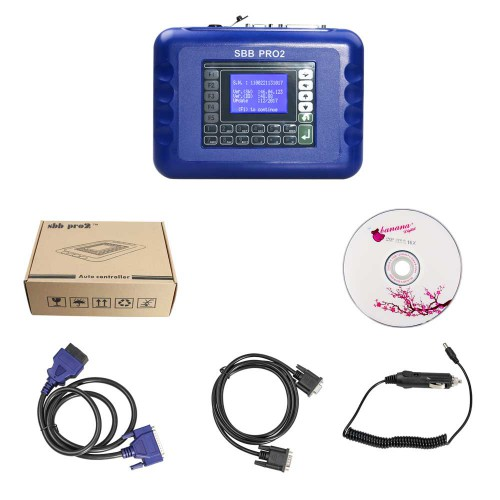[Ship from UK] SBB PRO2 Key Programmer V48.88 No Token Limitation Supports New Cars to 2019.01
