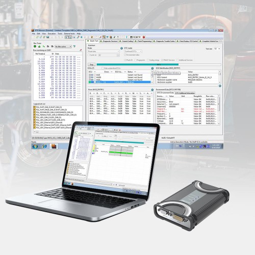 BENZ ECOM Support Diagnosis and Programming with USB Dongle for Latest Mercedes Till 2019