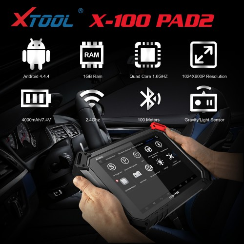 XTOOL X-100 PAD2 Expert Special Functions