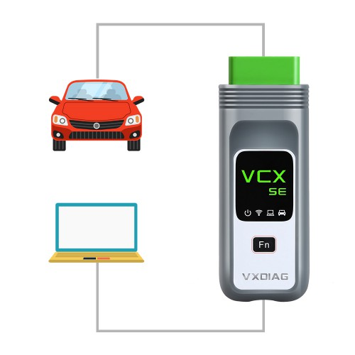 VXDIAG VCX SE Diagnostic and Programming Tool For all BMW E, F, G series with ISTA-D 4.18.20 ISTA-P 3.66.100 WIFI