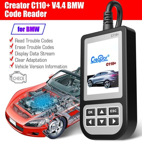 [Ship from UK] Creator C110+ V6.2 Code Reader for BMW