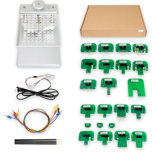 LED BDM Frame With 4 Probes Mesh + BDM Probe Adapters for KESS Dimsport KTAG Full Set
