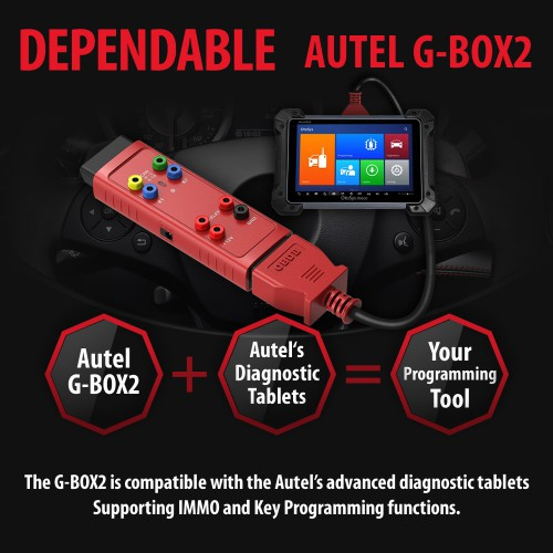 Ship from UK)AUTEL G-BOX2 Tool for Mercedes Benz All Keys Lost Work with Autel MaxiIM IM608