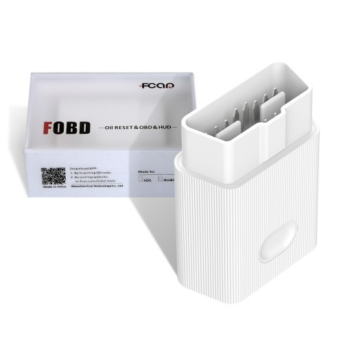 Fcar OBD2 Adapter Plug and Play Diagnostic & Service Reset Tool for Android & IOS Phone Free Shipping