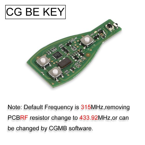 CGDI CG MB BE KEY pro Improved Version Perfectly