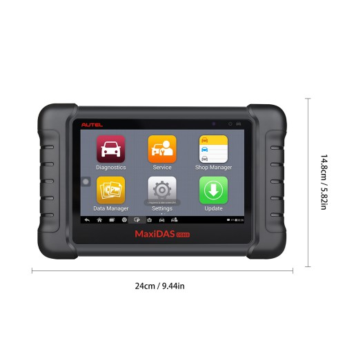 AUTEL MaxiDAS DS808K KIT Tablet Diagnostic Tool Full Set Support Injector & Key Coding Update Online