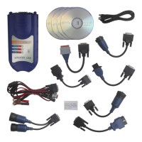 New XTRUCKS USB CONTACT + Software Diesel Truck Diagnostic Interface