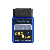 ELM327 Vgate Scan Bluetooth Scan Tool free shipping