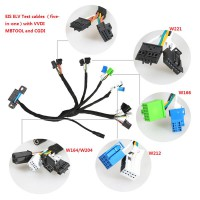 [Ship from UK]Benz EIS ELV Test cables 5-in-1 Works Together with VVDI MB TOOL/ CGDI Prog MB