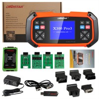 [Ship from UK, No Tax]OBDSTAR X300 PRO3 Key Master with Immobiliser + Odometer Adjustment +EEPROM/PIC+OBDII