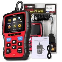 (Ship from UK)Vident iEasy310 OBDII/EOBD Code Reader Scanner Multi-language Support Battery Test Function
