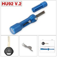 HU92 V2 Locksmith Tool for BMW HU92 Lock Pick and Decoder 2 in 1 Quick Open Tool