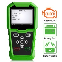 Original Obdstar BMT-08 12V/24V Automotive Battery Tester and Battery Matching Tool OBD2 Battery Configuration
