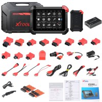 XTool PS90 Tablet Vehicle Diagnostic Tool Supports Wifi and Special Function Free Update Online for 2 Year