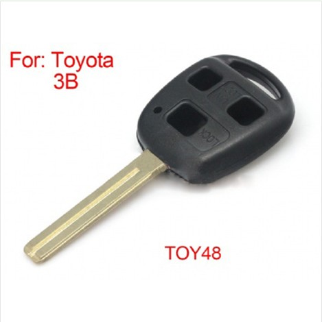 Old Remote Key Shell 3B Toy48(without logo) for Toyota  5pcs/ lot