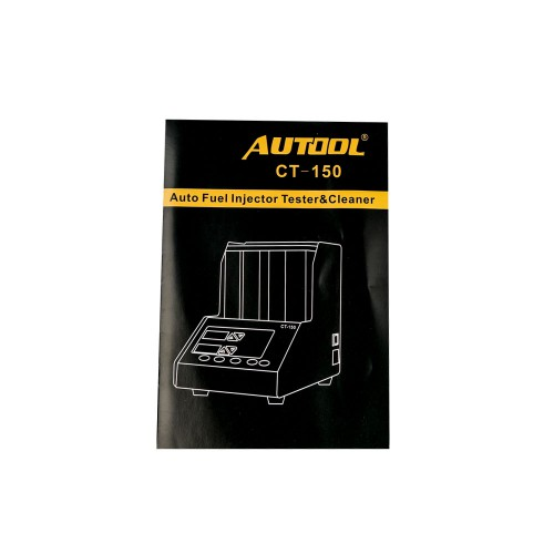 AUTOOL CT150 Automotive Motorcycle Injection Tester and Cleaner