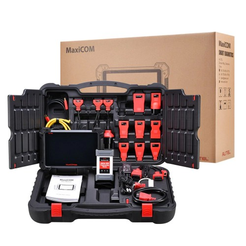 (Ship from UK)Autel MaxiCOM MK908P Full System Diagnostic Tool with J2534 ECU Programming Multi-Language Free Shipping