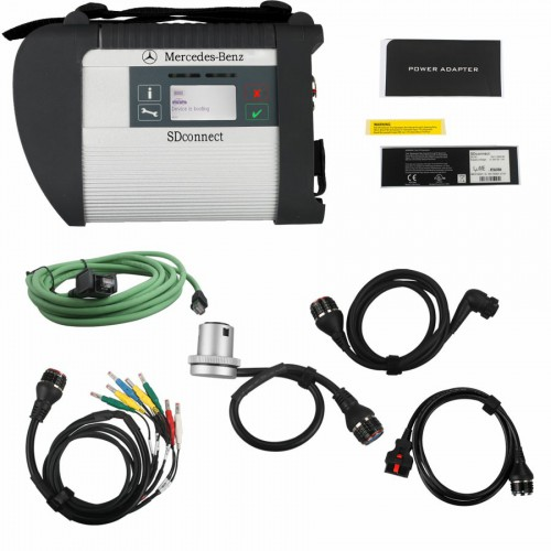 V2019.9 MB SD C4 Connect Compact 4 mit WiFi für Mercedes Benz Pkw und Lkw free send  256G SSD software with Vediamo and DTS